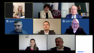 "VI webinar on ""COVID 19 - Responses from Democracies: Do we have 27 different policies, or one United European Front?"""