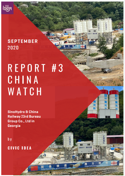 Civic IDEA's third China Watch Report covers the controversies over SinoHydro & China Railway 23rd Bureau Group Co.