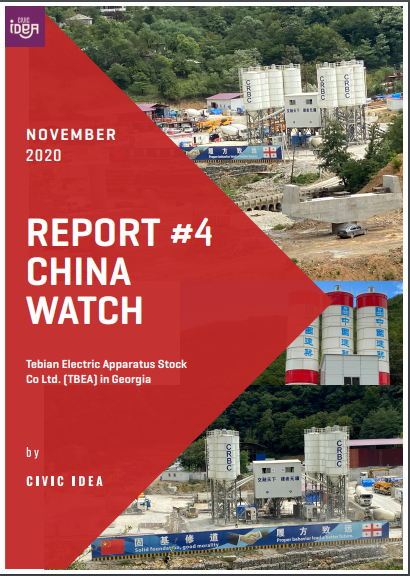 Civic IDEA's 4th China Watch report